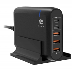 5 Ports USB PD Quick Charger