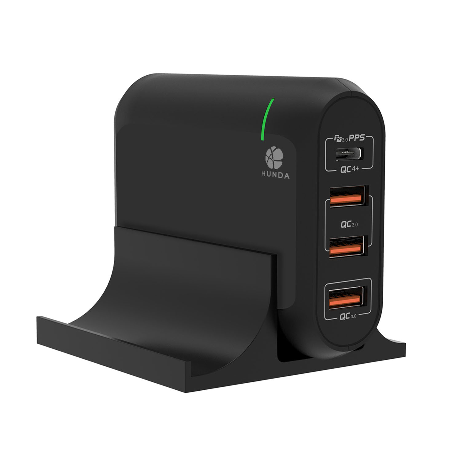 66W Type-C PD3.0 4 Ports Charger