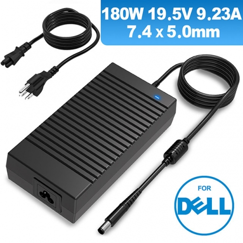 Dell 180W AC Adapter  19.5V 9.23A laptop charger replacement