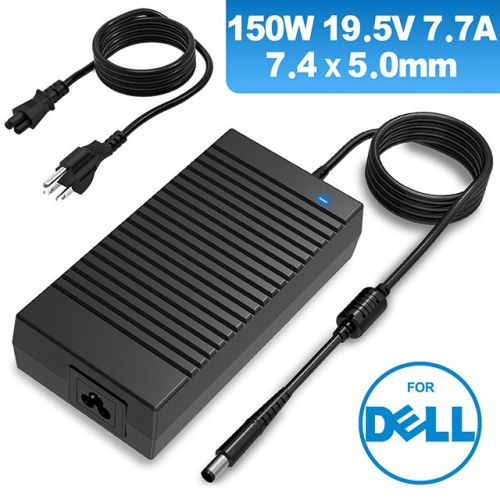 Laptop Charger For Dell XPS 15 L501/502, Alienware  M14x M15x M16x ---19.5V 7.7A 150W