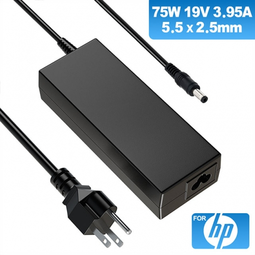 19V 3.95A 75W Charger for Laptop HP