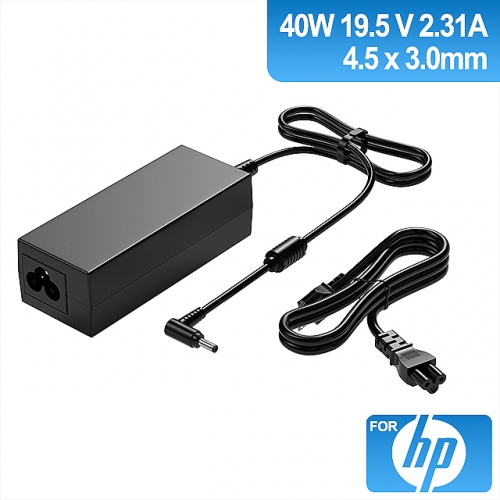 19.5V 2.31A 45W Charger for Laptop HP