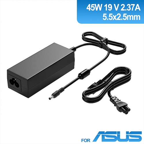 Laptop 19V 2.37A 45W Charger For Asus  X551M, X553M, X555, and ZenBook Series