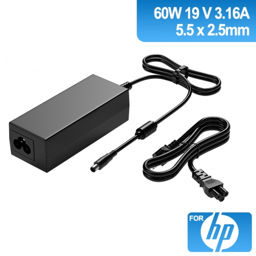 19V 3.16A 60W Charger for Laptop HP
