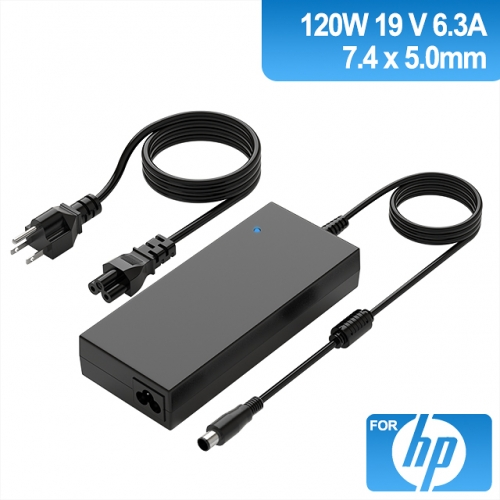 19V 6.3A 120W Charger for Laptop HP