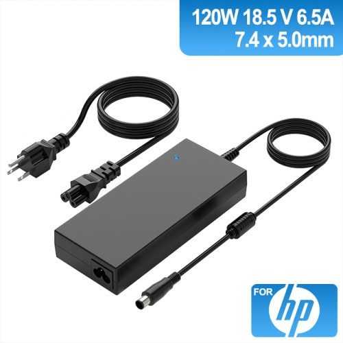 18.5V 6.5A 120W Charger for Laptop HP