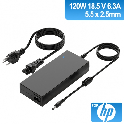 18.5V 6.3A 120W Charger for Laptop HP