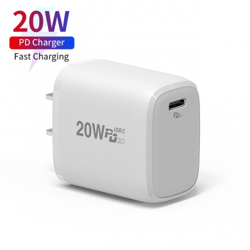 PD 20W USB-C  Multi-functional Fast-Charging USB Wall Charger